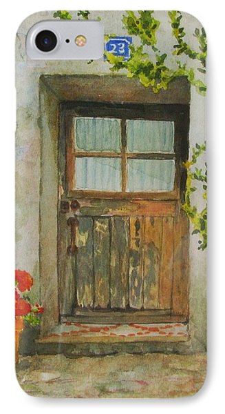 Brittany  Door Phone Case by Mary Ellen Mueller Legault