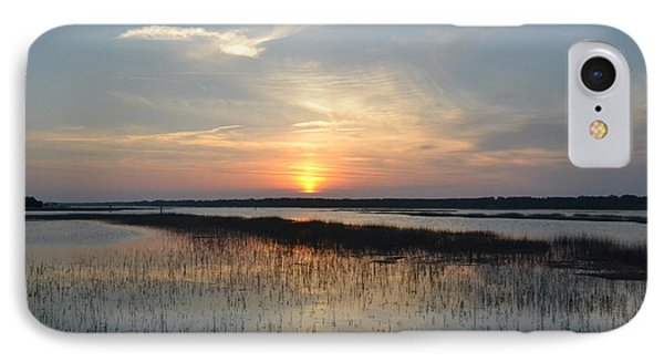 IPhone Case featuring the photograph Broad Creek Sunset II by Carol  Bradley