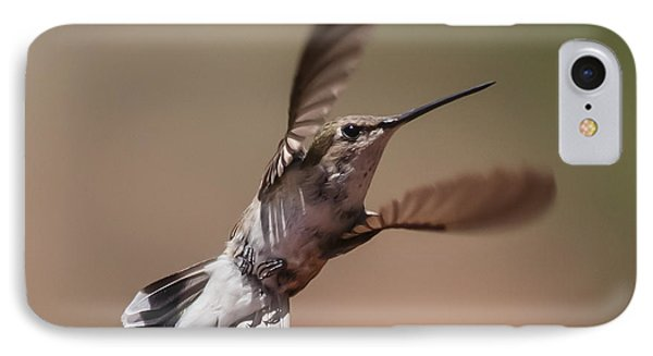 Broad-tailed Hummingbird 2 IPhone Case by Lee Kirchhevel