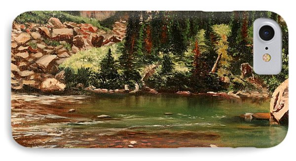 Broadwater Pond IPhone Case by Patti Gordon