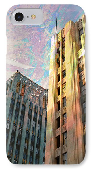 Broadway And Ninth Dwontown Corner IPhone Case