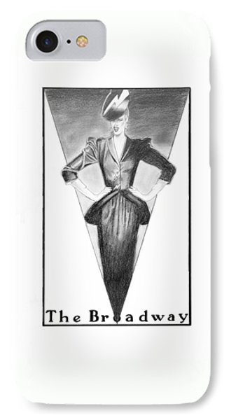 Broadway Dame Phone Case by Sarah Parks