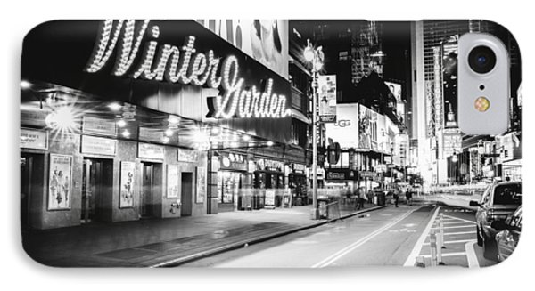Broadway Theater - Night - New York City IPhone Case by Vivienne Gucwa