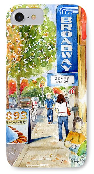 Broadway Theatre - Saskatoon IPhone Case by Pat Katz