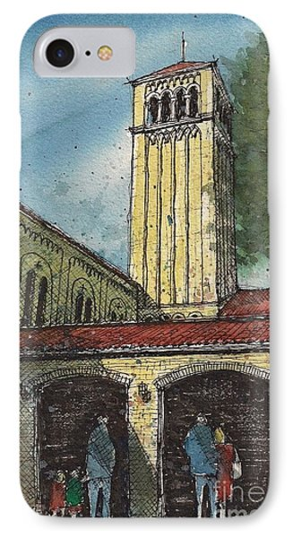 IPhone Case featuring the painting Broadway Tower by Tim Oliver