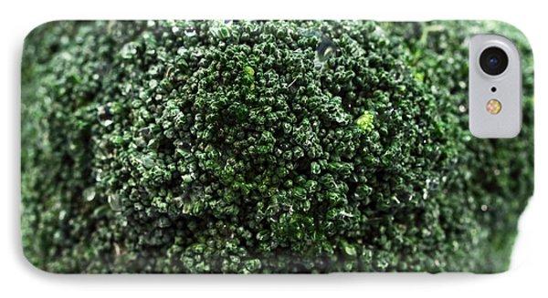 Broccoli Phone Case by John Rizzuto
