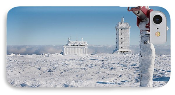 Brocken In Winter Phone Case by Andreas Levi