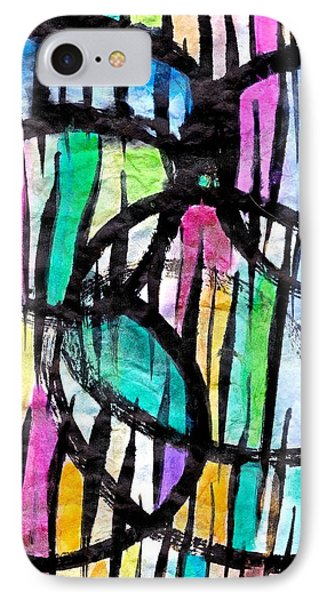 Broken Fences IPhone Case by Joan Reese