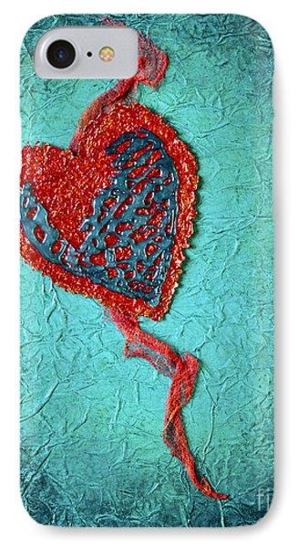 Broken Heart IPhone Case by Pattie Calfy