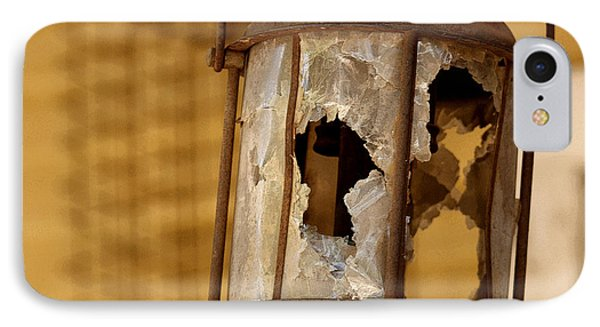 Broken Lantern Phone Case by Art Block Collections