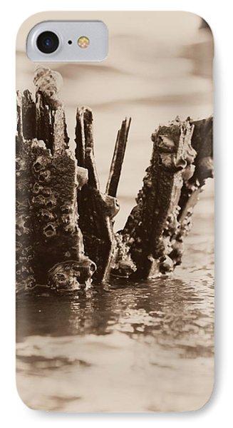 Broken Pier II Phone Case by Hillery Bosarge
