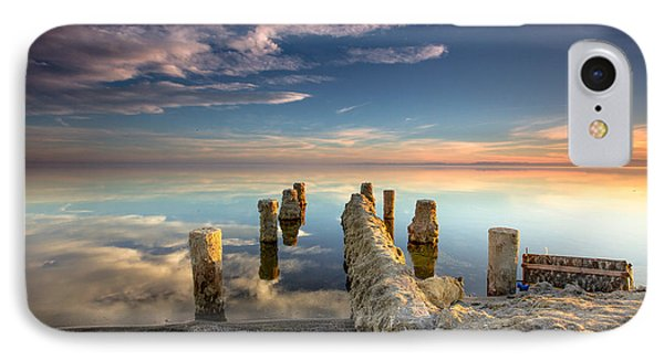 IPhone Case featuring the photograph Broken Pier by Robert  Aycock