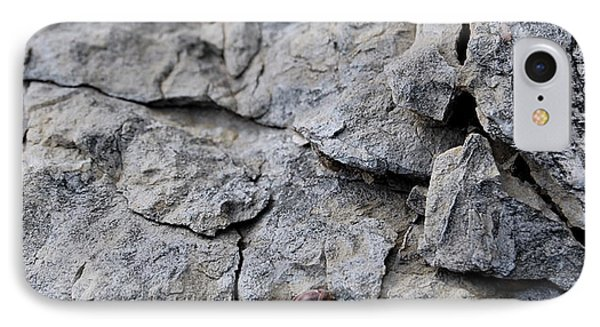 Broken Stones Texture IPhone Case by Gina Dsgn