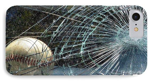 Broken Window Phone Case by Robyn King