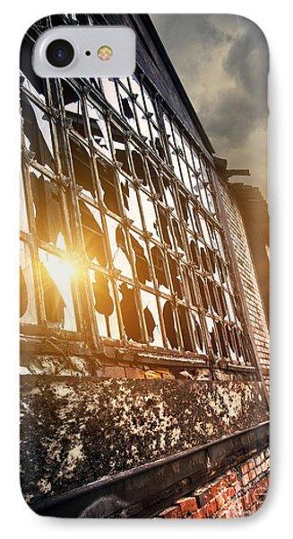 Broken Windows IPhone Case by Carlos Caetano