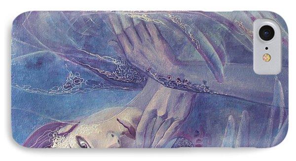 Broken Wings IPhone Case by Dorina  Costras