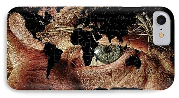 Broken World Puzzle IPhone Case