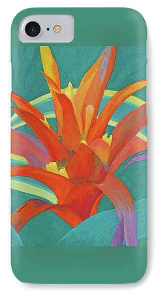 Bromeliad Glow IPhone Case