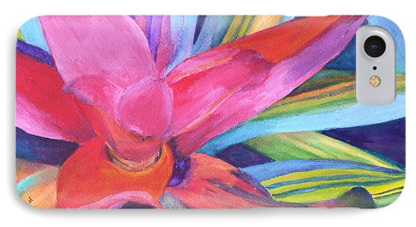 Bromeliad Pink IPhone Case