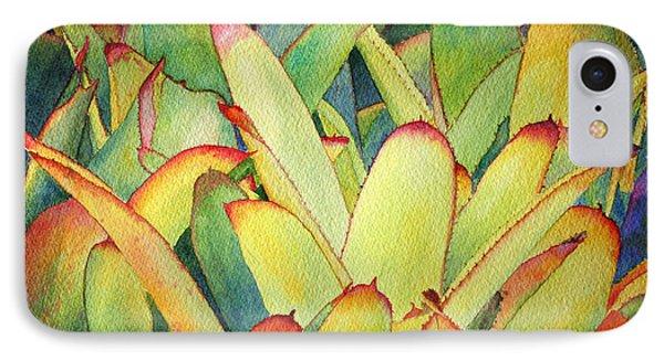 Bromeliads I IPhone Case by Roger Rockefeller