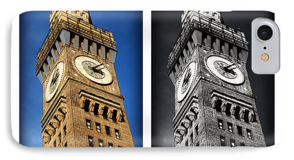 Bromo Seltzer Black And Blue Phone Case by Stephen Stookey