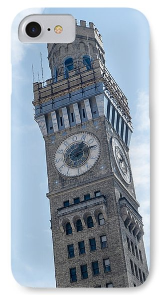 Bromo Seltzer Clock Tower IPhone Case