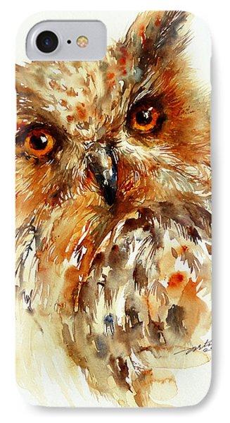 Bronzai The Owl IPhone Case