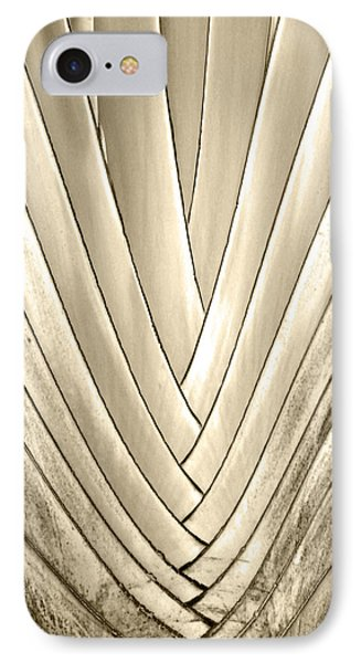 Bronzed Palm IPhone Case by Michelle Wiarda