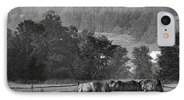 IPhone Case featuring the photograph Broodmares by Joan Davis
