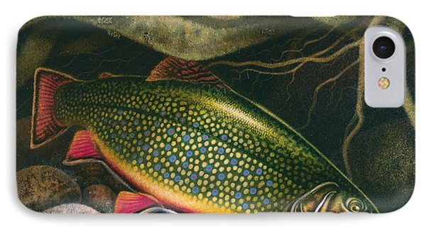 Brook Trout Lair IPhone Case