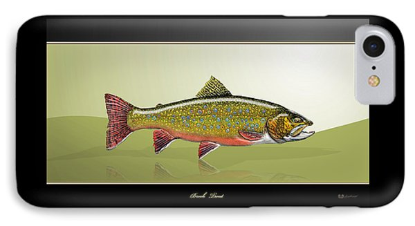 Brook Trout IPhone Case by Serge Averbukh