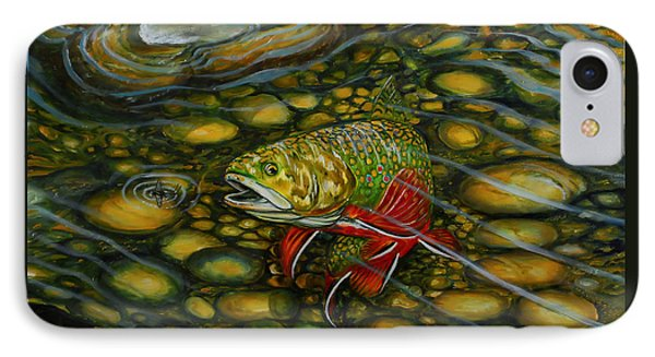 Brook Trout IPhone Case by Steve Ozment