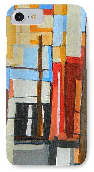 Brooklyn Abstract IPhone Case by Ron Erickson