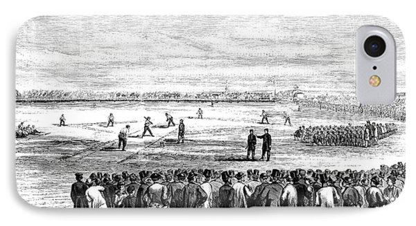 Brooklyn Baseball, 1866 IPhone Case by Granger