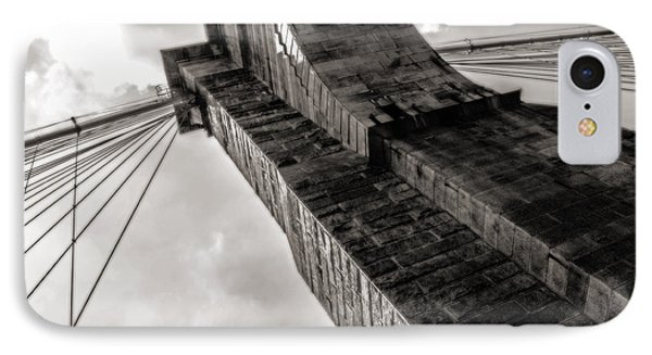 IPhone Case featuring the photograph Brooklyn Bridge by Angela DeFrias