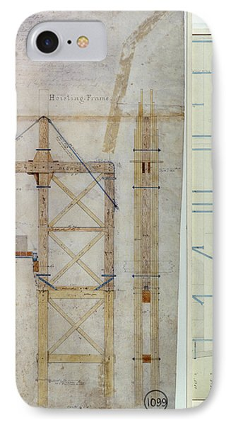 Brooklyn Bridge: Diagram Phone Case by Granger