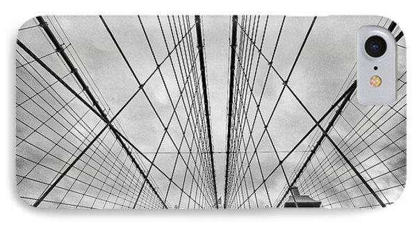 Brooklyn Bridge Phone Case by John Farnan