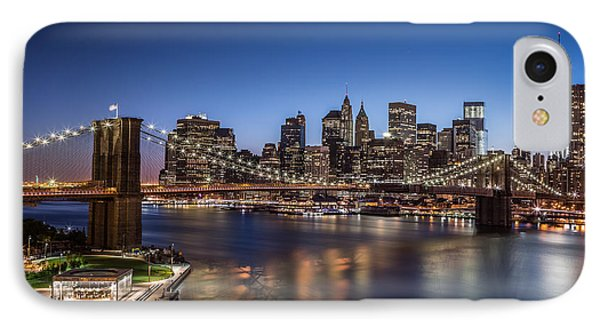IPhone Case featuring the photograph Brooklyn Bridge by Mihai Andritoiu