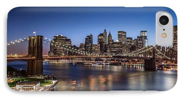 Brooklyn Bridge IPhone Case by Mihai Andritoiu