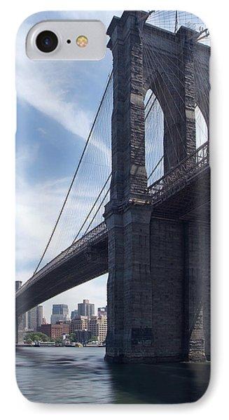 Brooklyn Bridge IPhone Case by Mike McGlothlen