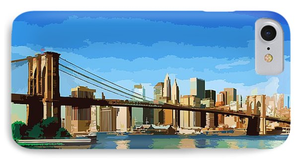 Brooklyn Bridge  IPhone Case
