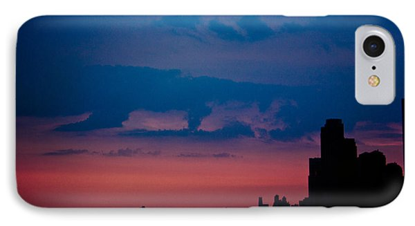 Brooklyn Bridge Sunrise IPhone Case by Sara Frank