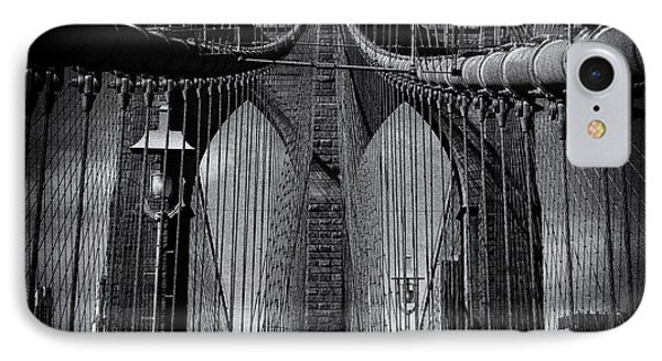 Brooklyn Bridge Up Close New York City IPhone Case by Sabine Jacobs