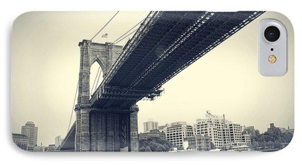 Brooklyn Bridge1 IPhone Case by Paul Cammarata