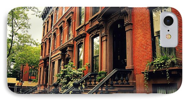 Brooklyn Brownstone - New York City IPhone Case by Vivienne Gucwa