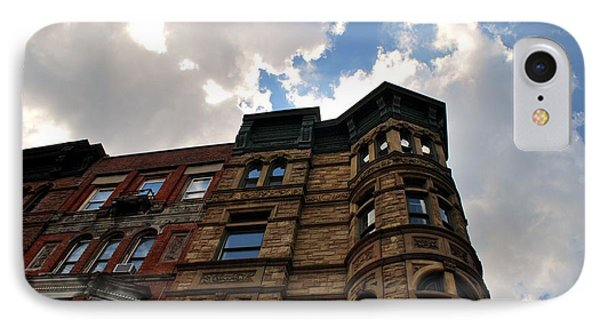 Brooklyn Building And Sky IPhone Case by Cleaster Cotton