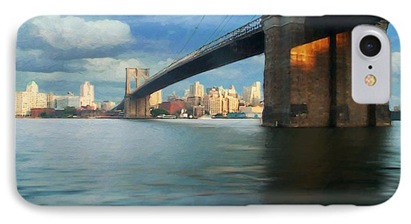 IPhone Case featuring the digital art Brooklyn by David Klaboe