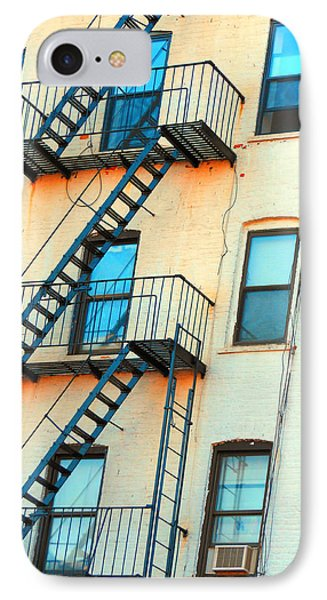 Brooklyn Fire Escape IPhone Case by Jon Woodhams