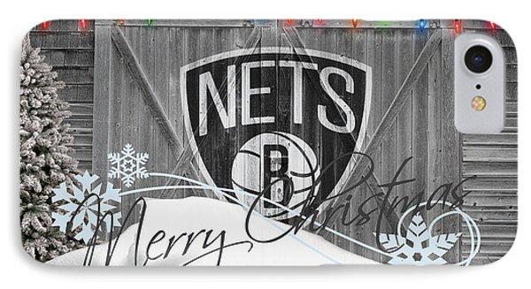 Brooklyn Nets Phone Case by Joe Hamilton