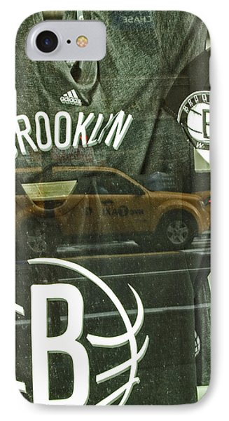 Brooklyn Nets Phone Case by Karol Livote